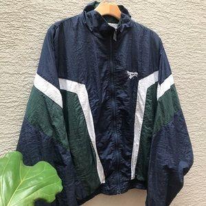 🔥Vintage 90s Reebok Windbreaker Jacket   Medium
